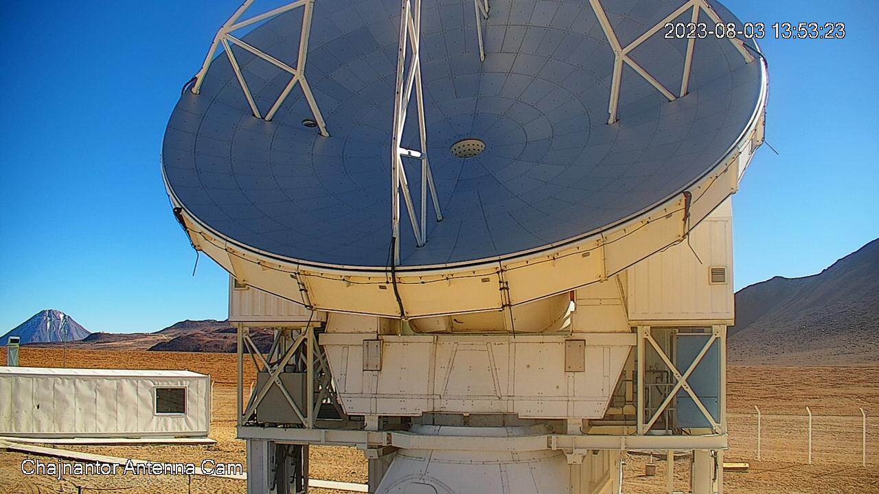Atacama Pathfinder Experiment telescope