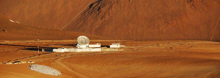 Vista aérea del sitio de APEX